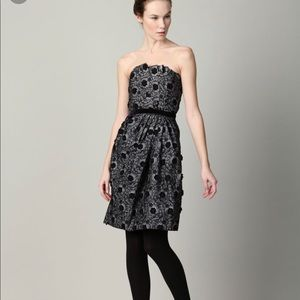 Marc By Marc Jacob Embroidered Strapless Dress